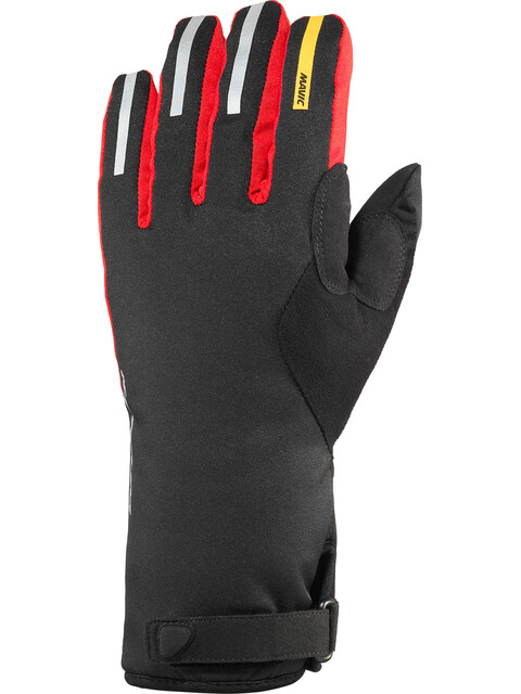 Mavic Ksyrium Pro Thermo Gloves Men black/bright red